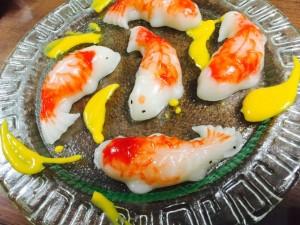 椰汁锦鲤年糕