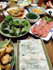 誕生日+ひな祭りでいろいろ料理