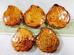 konahouse 桃型の月餅