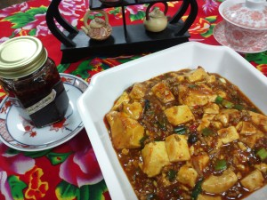 konahouse 自家製ラー油の麻婆豆腐